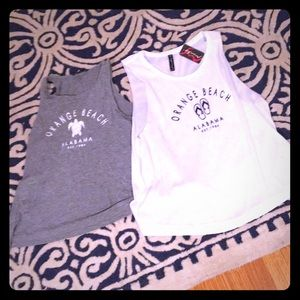 Tops - NWT Orange Beach tanks